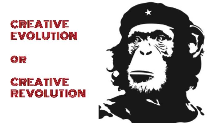 Creative Evolution or Creative Revolution?